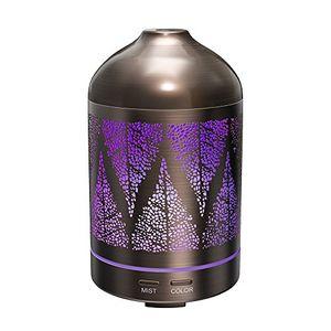 ofertas para - humidificador aromaterapia 100ml taotronics difusor aroma de aceites escenciales funda de acero inoxidable diseño clásico luz nocturna ultrasónico 10w 7 colores de luz ambientador de vapor frío