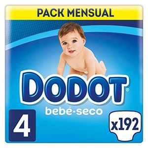 Cheap Dodot - Pañales, talla 4 (8-14 kg), 192 pañales con el envío libre