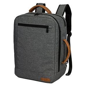 deals for - allcamp laptop rucksack verschiedenen organizer taschen bis 156 zoll grau