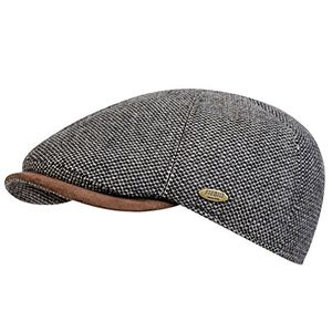 Angebote für -fiebig gmbh co kg herren schirmmütze schiebermütze wintermütze gatsby flatcap kappe 42188 62 cm braun