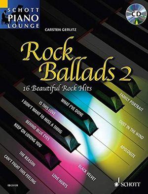 photos of Rock Ballads 2: 16 Beautiful Rock Hits. Klavier. Ausgabe Mit CD. (Schott Piano Lounge) Pro Cons Kaufen   model Book