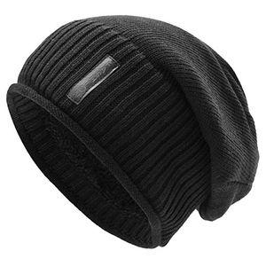 Angebote für -uphitnis slouch wintermütze für damen herren warme beanie mütze strickmütze long weichem mit rollsaum teddyfleece