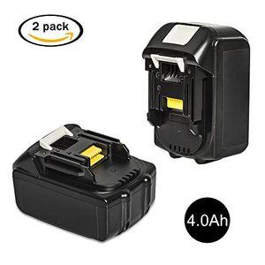 Buy libatter 2 pack bl1840 18v 40ah ersatzbatterien für makita werkzeugakku ersatzakku für makita akku bl1860 bl1850 bl1840 bl1830 bl1820 bl1815 bl1825 bl1835 bl1845 194204 5 5 lxt400 li ion