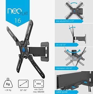 photos of Conecto Neo16 By EXELIUM   TV Wandhalterung Neigbar, Schwenkbar & Ausziehbar Für LED LCD Fernseher Monitor 32 Zoll   55 Zoll (schwarz) Hot Angebot Kaufen   model CE
