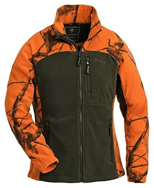 deals for - pinewood damen fleecejacke oviken fleece jacket realtree ap blaze hdjagdgrün l 8762 932