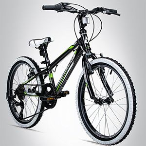 deals for - bergsteiger kansas 24 zoll kinderfahrrad geeignet für 8 9 10 11 jahre shimano 6 gang schaltung mountainbike mit weißwandbereifung jungen fahrrad mädchen fahrrad