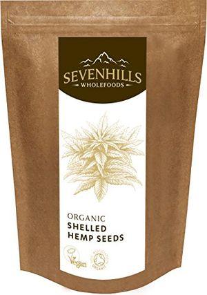 Hot sevenhills wholefoods rohen geschälte hanfsamen bio 500g