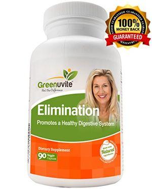 ofertas para - elimination by greenuvite limpiador de colon en altas dosis limpiador de colon para los problemas digestivos diarrea dolor abdominal y mal aliento suplementos 100 naturales