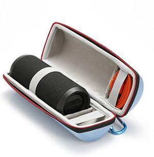 Angebote für -harte reise lagerung tragetasche für jbl flip 4 jbl flip 3 wireless bluetooth portable lautsprecher passend für usb kabel und wand ladegerät blau