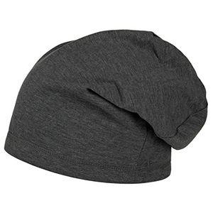 boston long beanie damenherren ca 30 cm one size 55 64 cm slouch mütze smmerwinter jerseymütze aus baumwolle one size anthrazit