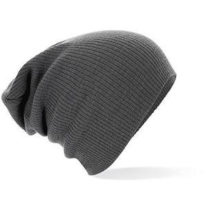 deals for - slouchmütze fashion hat wintermütze größe unisex viel farben smokegrey