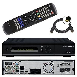 photos of Micro M1 HD+ CI+ Digitaler HD Twin Satelliten Receiver (12 Moante HD+, Twin Tuner, 1x CI+, HDMI, Ethernet, USB 2.0, PVR Ready, Smart TV) Schwarz Guide Kaufen   model CE
