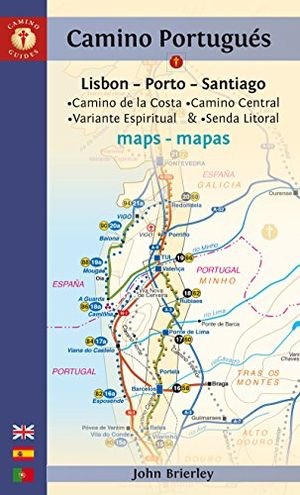 Review for camino portugues maps sixth edition camino guides