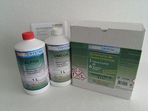 photos of Nova Crystal Chlorfreie Wasserpflege Promotion Set 2 X 1 L (Preis Je L / 34,50 EUR) Heute Deals Kaufen   model Lawn & Patio