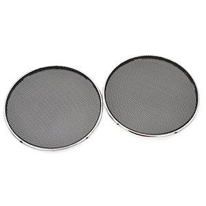 Angebote für -ynuth 2x auto lautsprecher gitter abdeckung rund schwarz weiß kunststoff eisen