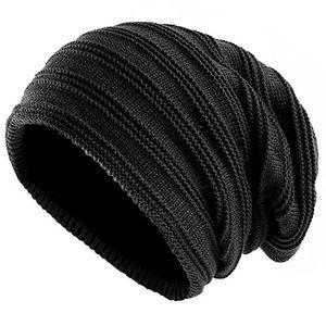 Angebote für -sandalup wintermütze gestrickte mütze mit weichem korallen samt futter mütze für damen und herrenschwarz