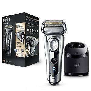 Calientes Braun Series 9 9290 cc - Afeitadora eléctrica de lámina para hombre, en húmedo y seco, con estación de limpieza clean&charge Mejor oferta