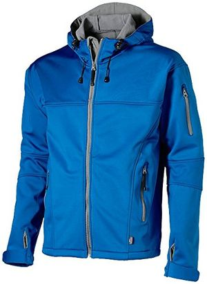 Top slazenger softshell jacket sky blue grey m