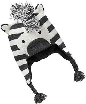 Angebote für -kinder baby mode niedliche weihnachten winter zebra warmes ohrenklappen mütze strickmütze sicherungskappe beanies mittel