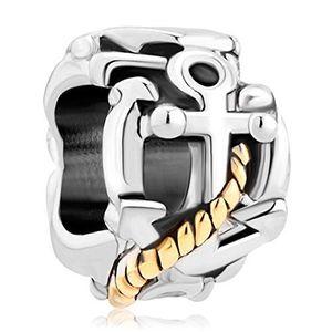 Angebote für -pugster anchor gold versilbert charm verkauf billig perlen pandora jewelry charms armband geschenke