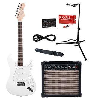 photos of Rocktile Sphere E Gitarren Classic Set White Heute Deals Kaufen   model Musical Instruments