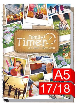 chäff family timer 20172018 der familien planer 18 monate juli 2017 dezember 2018 familienkalender