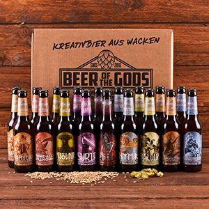 deals for - wacken brauerei göttergabe 18 x 033l beer of the gods craftbeer paket craft beer set bierbox geschenkset bier