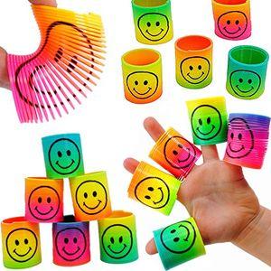 Review for german trendseller 12 x regenbogen strolche ┃ neu ┃ happy face ┃ kindergeburtstag ┃ mitgebsel ┃12 x strolche zum ziehen