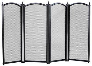 Angebote für -carlo milano funkenschutz funkenschutzgitter 4 teilig 85 x 50 cm kaminschutzgitter