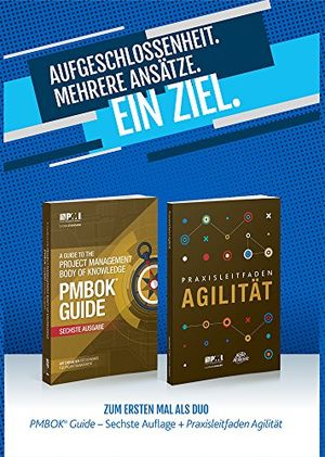 a guide to the project management body of knowledge pmbok r guide sixth edition agile practice guide bundle german