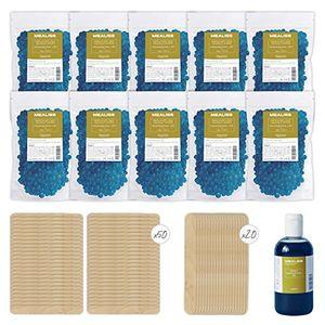 ofertas para - kit epilation starter y recarga mealiss 10cera caliente para el cuerpo y el rostro