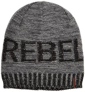 barts rebel beanie 250 anthrazit 55