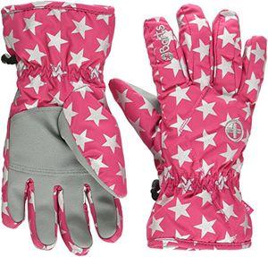 barts kids handschuhe rosa berry stars 7 herstellergröße 7