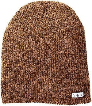 Top neffherren wintermütze mütze daily heather gr einheitsgröße schwarzorange