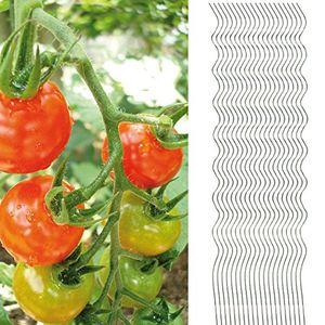 20x tomatenspiralstab 180cm voll verzinkt tomatenstab tomaten ranke pflanzstab stahl profi qualität 1 50 stück tomatenspiralstäbe