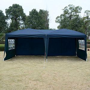 Angebote für -gartenpavillon partyzelt bierzelt pavillon gartenzelt hochzeit festzelt zelt 3 x 6 m farbwahl blau