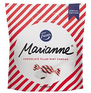 fazer marianne minzbonbons mit schokolade 350g