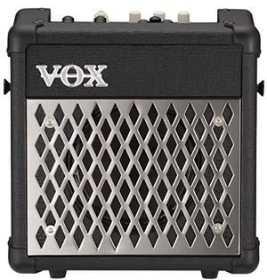vox mini5 rhythm gitarrencombo 1x65 5w ampfx modeling schwarz batteriebetrieb integriertes stimmgerät 99 rhythmen