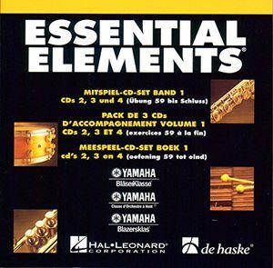 photos of ESSENTIAL ELEMENTS MITSPIEL 3er CD SET Zu BAND 1   Enthält CD 2 , 3 , 4 Passend Arrangiert Zur Gleichnamigen Notenausgabe [Noten / Sheetmusic] Aus Der Reihe: YAMAHA Kaufen   model Musical Instruments