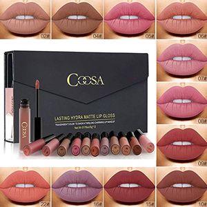 deals for - rechoo 12 stück wasserdicht langlebig matte liquid lipstick schönheit lippe gloss sexy wasserdichte long lasting moisturizing lippenstift lip gloss