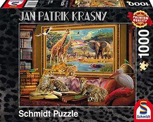 schmidt spiele 59335 jan patrik krasny oder coming to life die savanne zum leben erwacht 1000 teile klassische puzzle