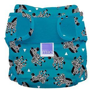 Calientes Bambino Mio Miosoft - Cobertor de pañal, diseño Zebra Crossing, talla 2, 9 kg+ ofertas especiales
