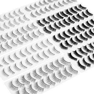 Review for wleec beauty 80 paare falsche wimpern 8 verschiedene stile künstliche wimpern 10 paarestil