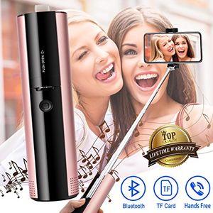 Buy bluetooth lautsprecher wasserdichte lautsprecher wireless outdoor bluetooth lautsprecher wiederaufladbare lautsprecher selfie stick lautsprecher