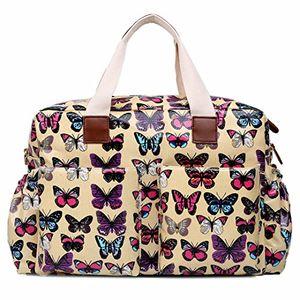 ofertas para - miss lulu bolso cambiador juego de mama nappy grandes bolso tote limpio color talla l