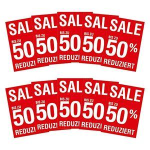 Angebote für -10 x plakat sale bis zu 50 prozent reduziert din a1 841x594mm kundenstopperformat