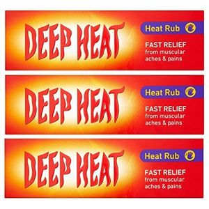 3 X Deep Heat Calor Frotar 100g (300g TOTAL) opinión