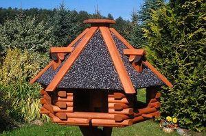 Angebote für -xxl luxus vogelhaus futterhaus vogelhäuser 70x45 cm nr13s dach mit strukturputz