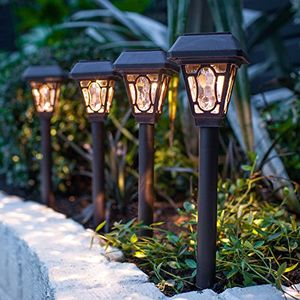 8er set led solar wegbeleuchtung barock lights4fun