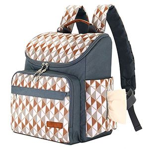 Inicio Bebé Bolsa de Pañales mochila con bolsillos con correas para el carrito gran capacidad bolso cambiador impermeable fácil de limpiar comparación